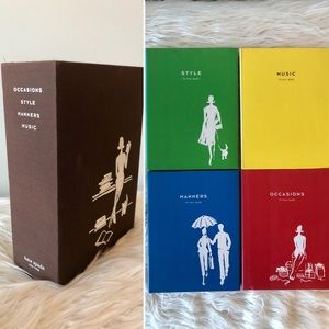 Kate Spade box set: Occasions Manners Style Music
